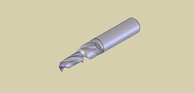 Step Twist Drill Illustration